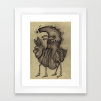 Lost Warrior Framed Art Print