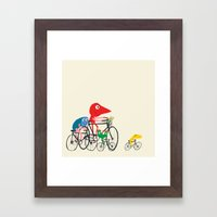 Bike is Life Framed Art Print