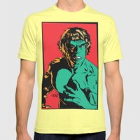 See Me Angry Mens Fitted Tee Lemon SMALL