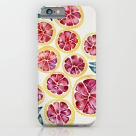 Sliced Grapefruits Water… iPhone 6 Slim Case