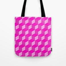 Geometric Series (Pink) Tote Bag