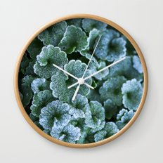Frosty Reprise Wall Clock