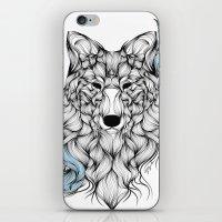 iPhone & iPod Skin featuring Wolf by Lera Razvodova