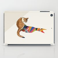 Walking Shadow, Cat 2 iPad Case