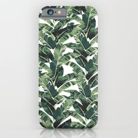 iPhone & iPod Case featuring BANANA LEAF by bows & arrows