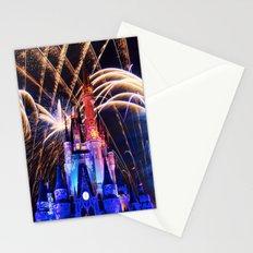 Walt Disney World Christmas Eve Fireworks Stationery Cards