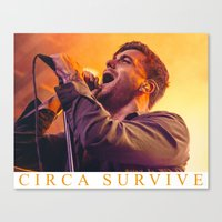 CIRCA SURVIVE Canvas Print