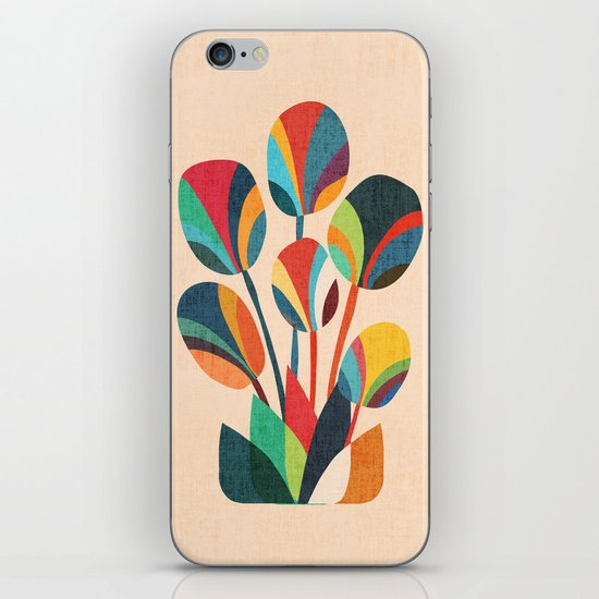 Ikebana - Geometric flower  iPhone & iPod Skin