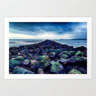 Road To The Sea Art Print