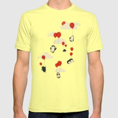 We Can Fly! Lemon Mens Fitted Tee SMALL