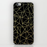 Abstraction Outline Gold… iPhone & iPod Skin