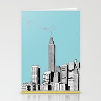A Scribble in the Sky Stationery Cards