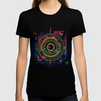 chaos vs order - the labyrinth within v2 Womens Fitted Tee Black SMALL