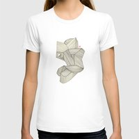 3B Womens Fitted Tee White SMALL