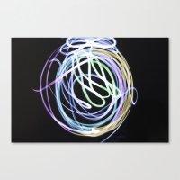 Illuminate the Paint Canvas Print