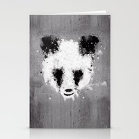 Panda Paint Stationery Cards