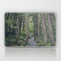 A Walk Through The Trees Laptop & iPad Skin