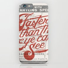 Faster than the eye can see Slim Case iPhone 6s