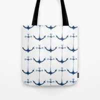 I'm Your Anchor /Marine - Nautica - Seaside - Summer House Decor - Vacation  Tote Bag