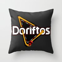 Doriftos Throw Pillow