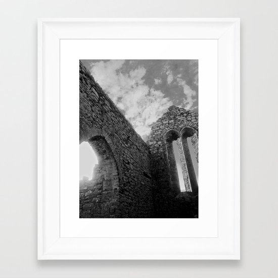 Corcomeroe Abbey Arch Framed Art Print
