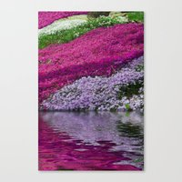 A Colorful River Canvas Print