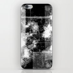 Forest Memories Abstract Black Fire iPhone & iPod Skin