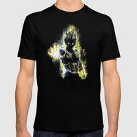 DBZ Inspired Epic Vegeta… Mens Fitted Tee Black SMALL