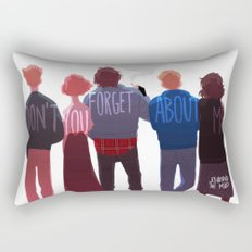 the club of five Rectangular Pillow