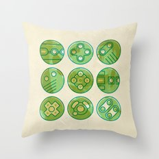 Video Game Controllers Throw Pillow