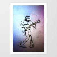 Avett Art Print