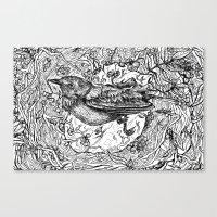 Nest for Heart Canvas Print