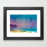 Dreamy Dead Sea II Framed Art Print