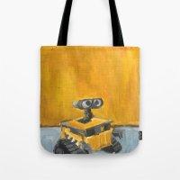 Wall-E and Rothko Tote Bag