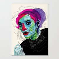Girl 02 Canvas Print