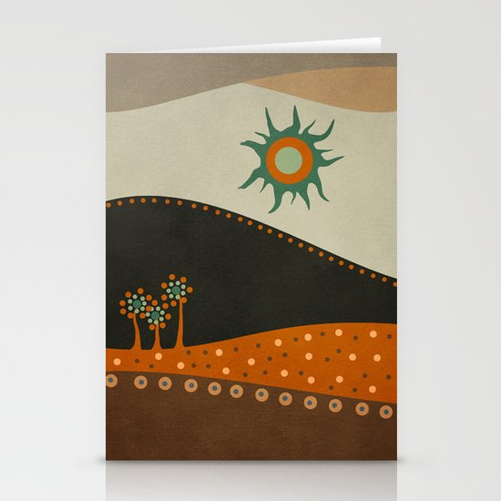 Sweet. Land. Stationery Card