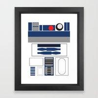 Star Wars - R2D2  Framed Art Print