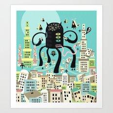 Gobeleur Art Print