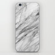 iPhone & iPod Skin featuring Carrara Marble by Santo Sagese