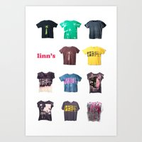 T Shirts Urbanics Art Print