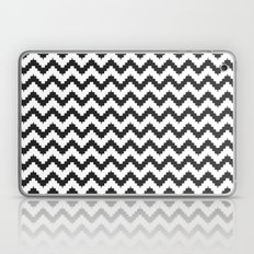 Funky chevron - black Laptop & iPad Skin