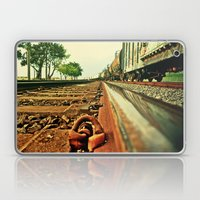 Train Track Laptop & iPad Skin