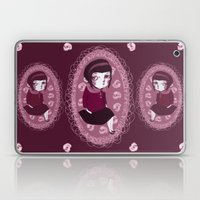 lonely girl Laptop & iPad Skin