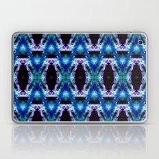 Blue Black Space Diamond Pattern Laptop & iPad Skin