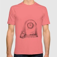 Time Mens Fitted Tee Pomegranate SMALL