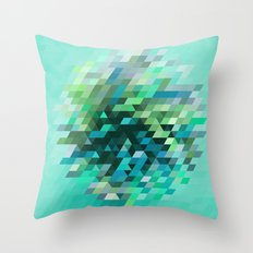 Cluster 2 Throw Pillow
