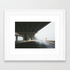 Mist of the Machine Framed Art Print