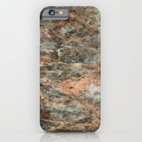 iPhone Cases featuring Salome Marble by Santo Sagese