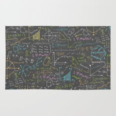 Math Lessons Rug