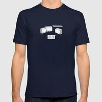 Sorry, i've lost CTRL! Mens Fitted Tee Navy SMALL